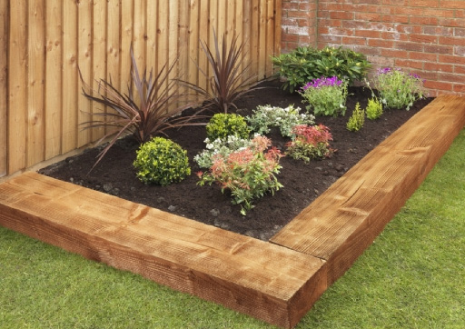 Pressure Treated Landscaping Sleeper 200X100mm 2.4M
