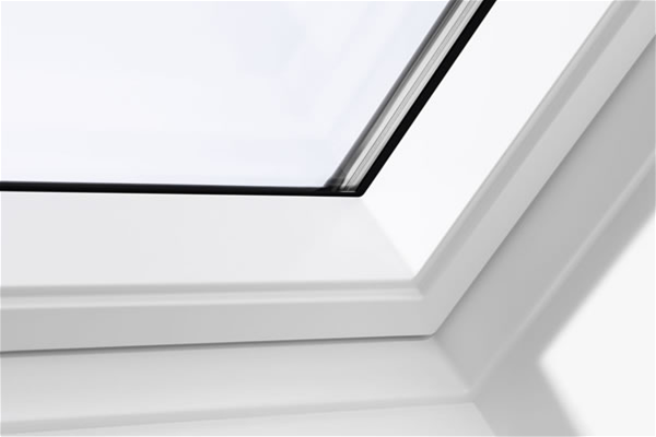 velux ggu ck04 0070q white centre pivot window enhanced 55cm x 98cm mcnairs building supplies. Black Bedroom Furniture Sets. Home Design Ideas