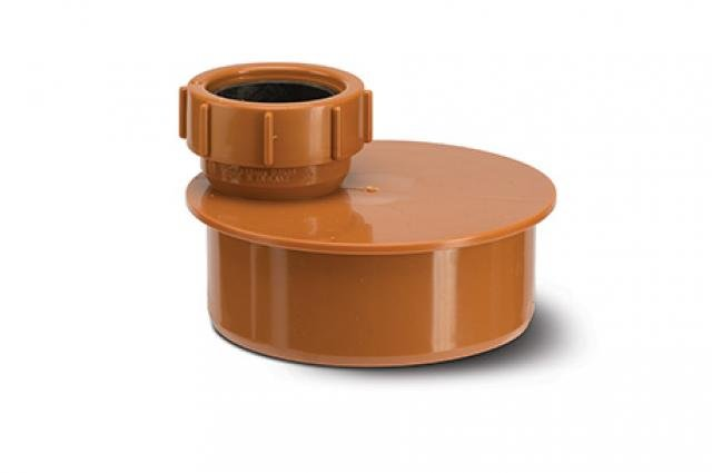 Polypipe Waste Pipe Adaptor 110mm - To 40mm