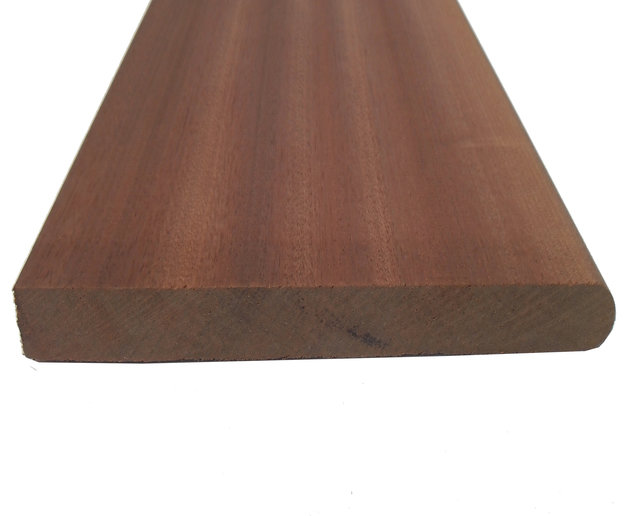 Redwood Bullnose Windowboard