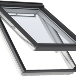 VELUX GPU PK10 0066 White Top Hung Window Triple Glazed ...