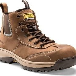 Buckler Hybridz Safety Boot Brown Thumbnail