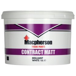Contract Matt Emulsion Brilliant White 10L Thumbnail
